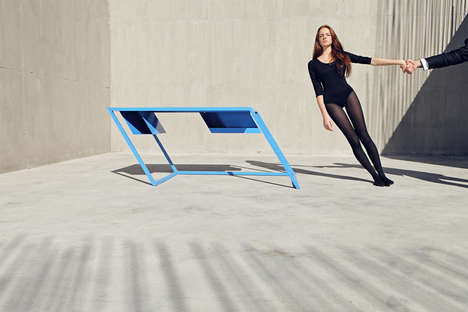 Slanted Furniture Collections - XYZ Integrated Architecture's '60 Series' Line Plays With Perception