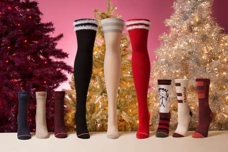 Celebrity-Branded Sock Collections - Rihanna's Fenty for Stance Features Holiday Offerings
