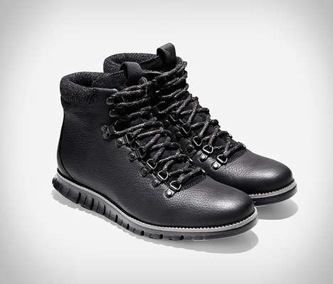 Sneaker-Inspired Hiking Boots - The Cole Haan Zerogrand Hiker Boot Has a Grand.OS Rubber Sole