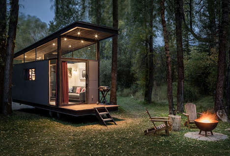 Refined Moveable Tiny Houses - The RoadHaus Wedge Offers Modest Living Space and a Queen Size Bed