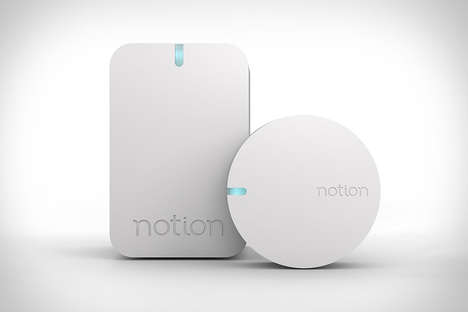 All-in-One Smart Security Sensors - The 'Notion' Home Monitoring Systems are Comprehensive