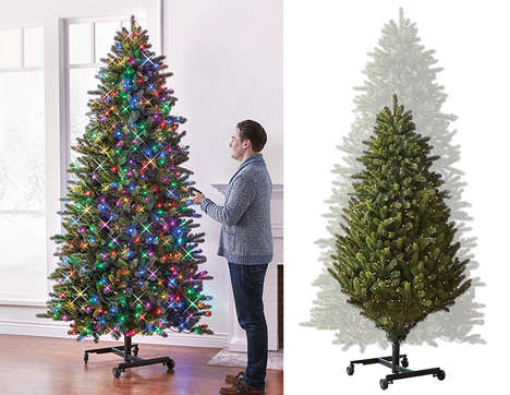 Expanding Holiday Trees - The Height-Adjustable Christmas Tree Lets You Trim without Ladders