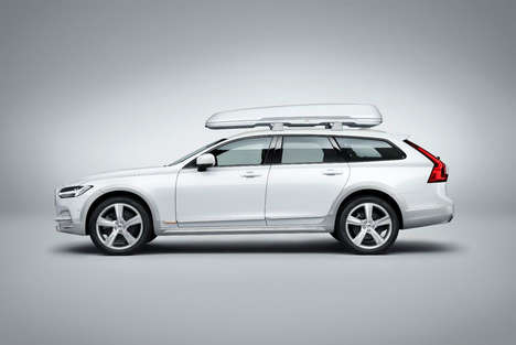 Ocean Waste Car Carpets - Volvo's V90 Ocean Race Wagon is Outfitted with Discarded Fish Netting