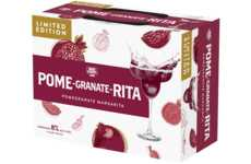 Canned Pomegranate Margaritas - The 'Pome-Granate-Rita' is a Female-Targeted Flavored Malt Beverage
