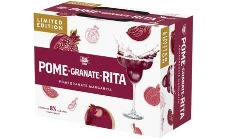 Canned Pomegranate Margaritas