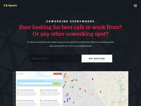 Coworking Space-Finding Apps - 'CwSpots' Connects Freelancers to the Best Spots for Working Remotely