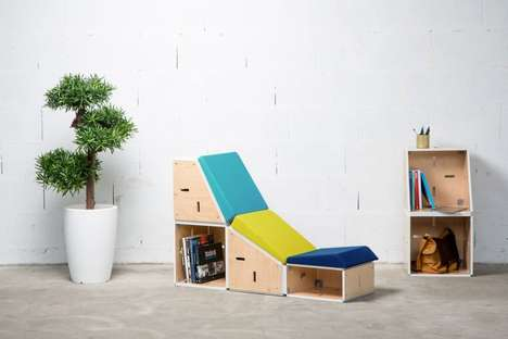 Modular Stacking Office Furniture
