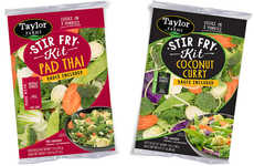 International Flavor Meal Kits - The New Taylor Farms Stir Fry Kits are Quick to Prepare and Enjoy