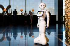 Humanoid Hotel Employees - The 'Pepper' Bot is a New Staff Member at the Mandarin Oriental Las Vegas