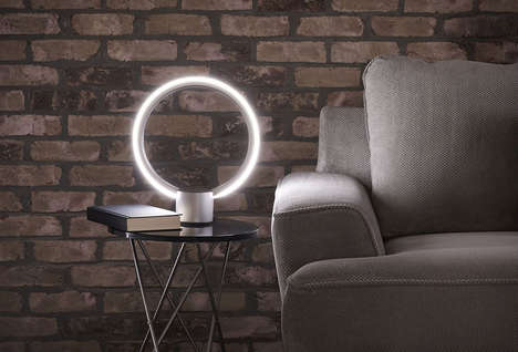 Voice Assistant Illuminators - The 'C by GE Sol' Lamp Lets You Control Your Home with Voice Commands
