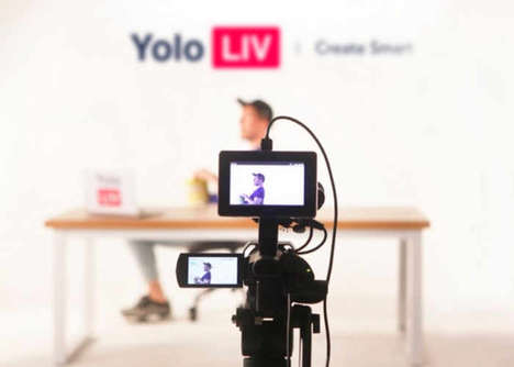 Social Network Livestream Equipment - The 'YoloBox' Enables You to Livestream Using Any Camera