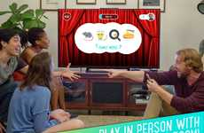 Emoticon Trivia Games - Emoji Charades Has Players Use Digital Characters to Describe Answers