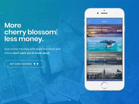 Secretive Deal Travel Apps - 'Secret Travel' Offers Up to 80% Discounts on Airfare