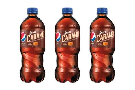 Savory Dessert Colas - Salted Caramel Pepsi will be Available in US Market in Limited Quantities