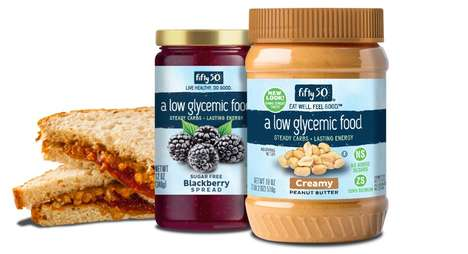 Diabetic-Friendly Sandwich Spreads - The Fifty50 Foods Spreads are Free From Added Sugar