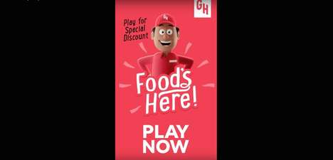 Food Delivery Video Games - Grubhub's 'Food's Here' Game Offers Incentives and Discounts on Orders