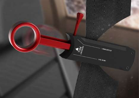 Automotive Emergency Escape Tools - The 'Cut-Save Life' Device Slices Through Seatbelts