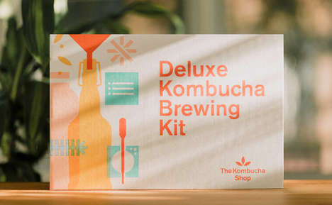 DIY Kombucha Kits - This Kombucha Kit Allows Consumer to Make the Fermented Beverage at Home