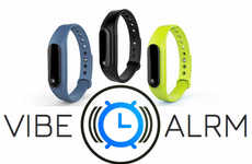 Vibrating Wrist Alarm Clocks - The 'VibeAlarm' Silent Alarm System Won't Disturb Those Around You