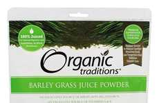 Barley Grass Juice Powders - Organic Tradition's Healthy Formula is Packed with Iron and Vitamins