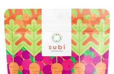 Barley-Based Juice Blends - Subi's Super Juice Consists of 23 Whole Food Ingredients