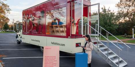 Menstruation Management Trucks - THINX's PMS Truck Offers One-on-One Consultations