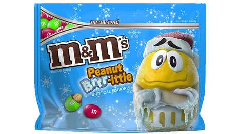 Seasonal Peanut Brittle Candies