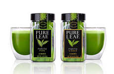 High-Quality Mainstream Matcha Teas - The Pure Leaf Matcha Teas Come in Two Flavor Options