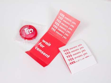 Consent-Promoting Condoms