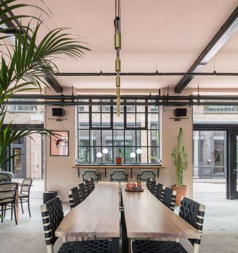Cozy Co-Working Spaces - Sella Concept Designed Cocoon-Like Co-Working Space in East London