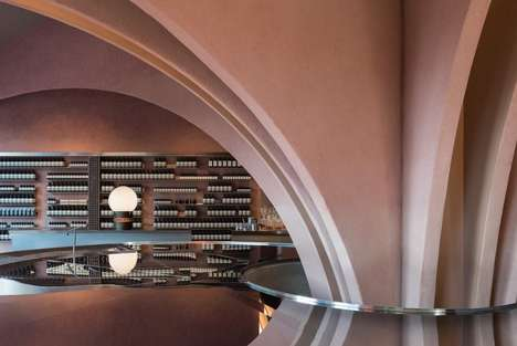 Dynamic Rose-Hued Beauty Stores - Skin Care Brand Aesop's New Store Was Inspired by James Bond Films