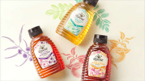 Diverse Honey Collections - Rowse Honey Features a Range of Dynamic Flavors
