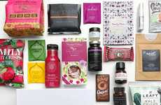 Plant-Based Wellness Boxes - Marie Claire and Lifebox Launched a Vegan Snack and Beauty Box