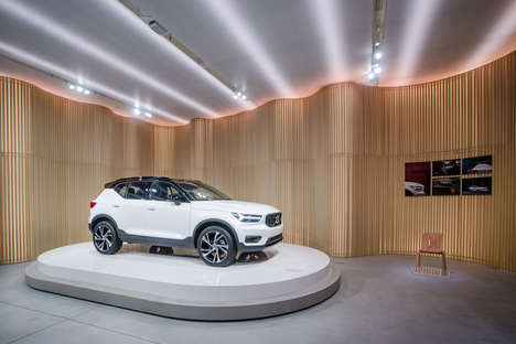 Luxury Swedish SUV Pop-Ups - Volvo Studio Milan is a Pop-Up Dedicated to Driving and Design