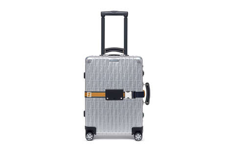 Collaborative Designer Luggage - Fendi Has Produced Its First Line of Hard Case Luggage