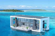 "Floating Hurricane-Resistant Homes - Arkup's ""Livable Yachts"" Can Withstand Category Four Winds"