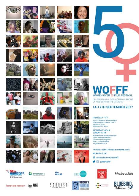 Female-Empowering Film Festivals - Women Over 50 Film Festival Celebrates Female Talent