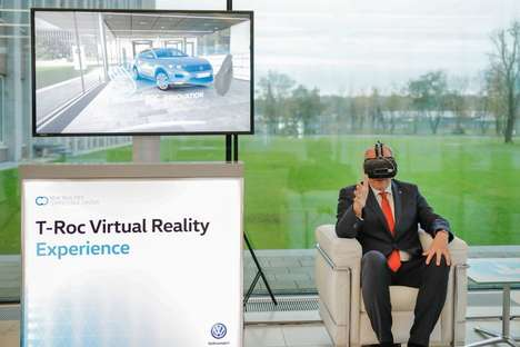VR Automotive Previews - Volkswagen Created a VR Viewing Experience to Introduce the T-Roc