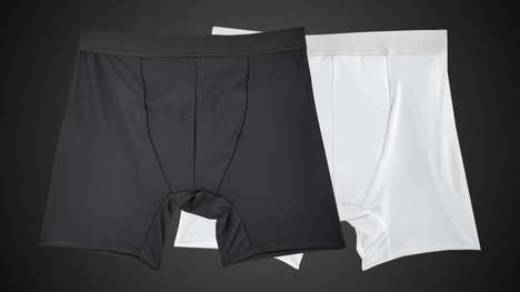 Leakproof Mens Undergarments - The PantyProp 'PropHim' Leakproof Underwear Blocks Odors