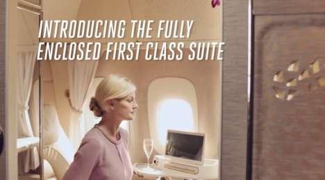 Luxury Vehicle-Inspired Airplane Suites