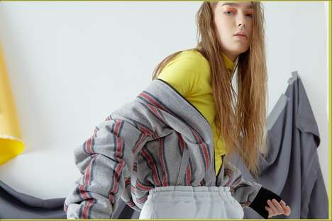 Layered Street Wear Editorials - Stussy Women's New Editorial Plays with Layering and Colors