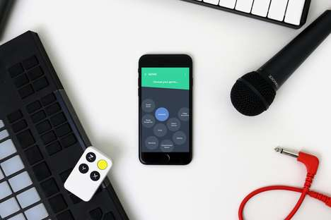 Motion-Controlled Musical Instruments - The Wiggle Kit is a Motion Instrument to Control One's Voice