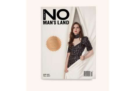 Female Empowerment Print Magazines - The Wing Released a Biannual Magazine Titled 'No Man's Land'