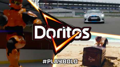 Hybrid Gaming Campaigns - Doritos' #Playbold Campaign Fuses Live & Video Gaming Experiences on Xbox