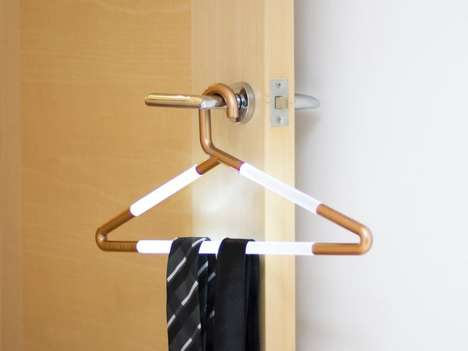LED-Embedded Hangers - The Hang-Up Light Helps You Find Your Outfit in the Morning