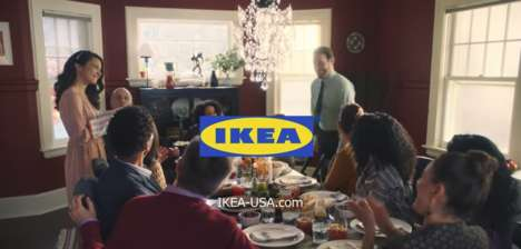 Thanksgiving Host Commercials - This IKEA Thanksgiving Ad Shows its Wide Range of Products
