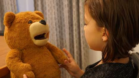 Digital Assistant Teddy Bears - Lexa Bear Offers a Cuddle Form for Voice Assistant Interactions