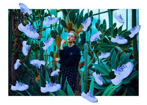 Collaged Sneaker Editorials - WAD Magazine's 'JORDAN XII' Series Spotlights Shoe-Inspired Art
