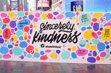 Research-Celebrating Kindness Walls - These Walls Were Erected in Celebration of World Kindness Day
