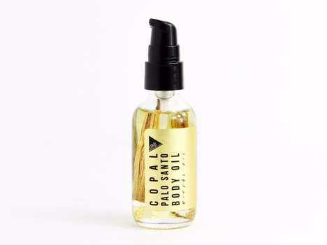 Wood-Infused Body Oils